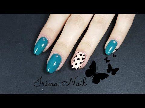 Turquoise nails - YouTube