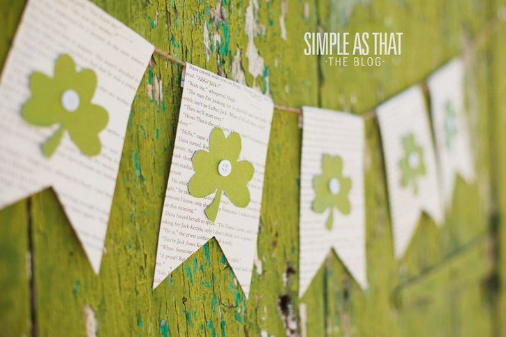 Simple St. Patrick�s Day Banner