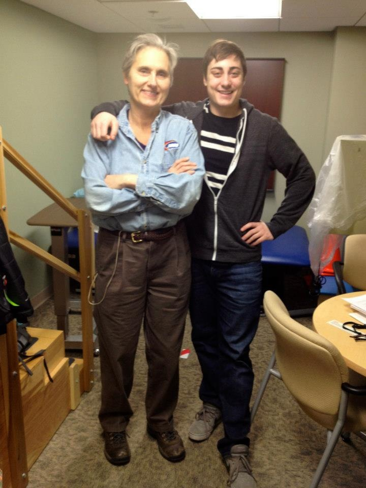Dr. Wahls and Tom | Terry Wahls M.D. | Pinterest | Toms