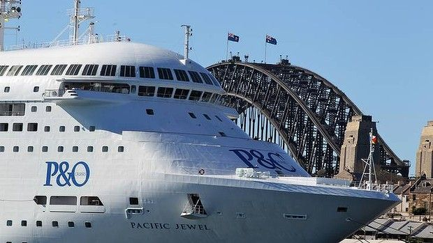 Australia & Pacific Jewel! #Australiadayonboard