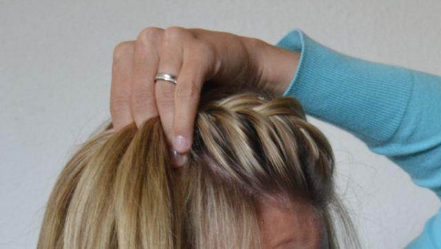Braided Pouf Hair Tutorial