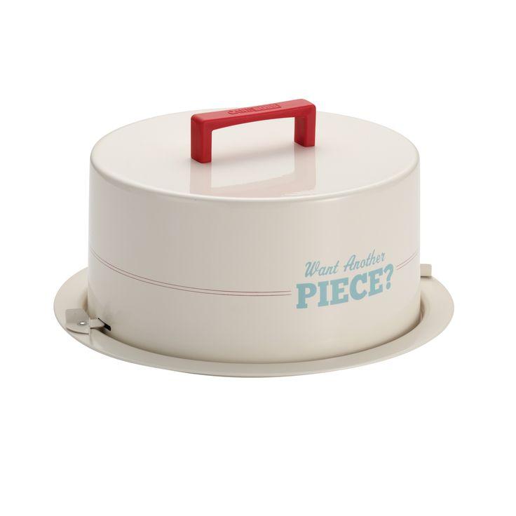 Cake Boss Serveware 'Want An Piece?' Cream Cake Carrier