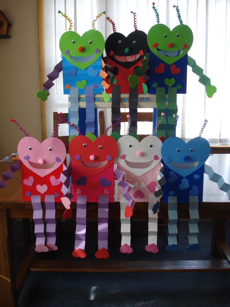 Love Bug bags for valentines- These are what my kids make every year! Love them and so do they! :)