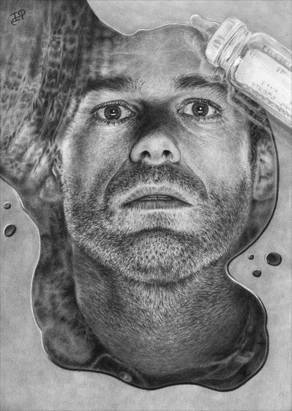 incredible pencil portrait