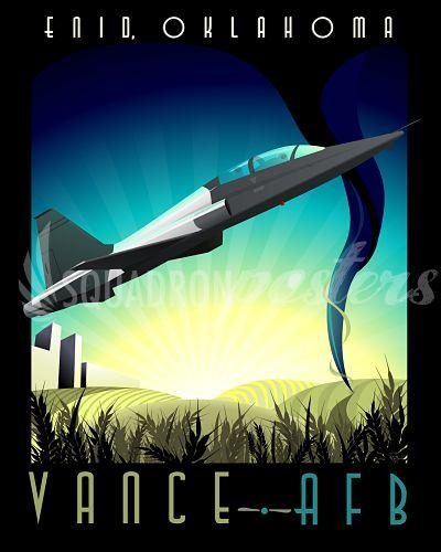 Vance AFB T-38 Talon - Squadron Posters