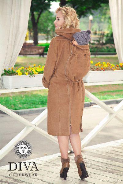 Babywearing Winter Coat, Backcarry Option