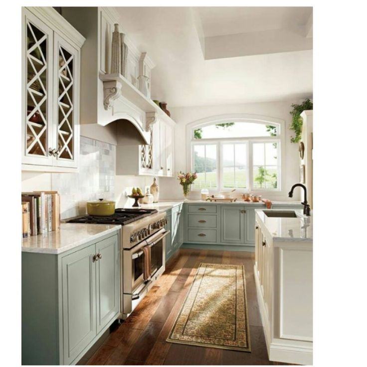 Craftsman Kitchen Colors