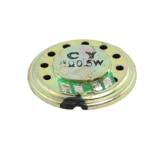 Gino 8 Ohm 0.5W 20mm Dia. Round Slim Internal Magnet Speaker for Toys by Gino. $2.91. This internal magnet speaker is designed with aluminum shell.Application: toys, digital photo frame, the electronic gifts, radio, interphone, machine learning, telephone, electronic dictionary, etc.