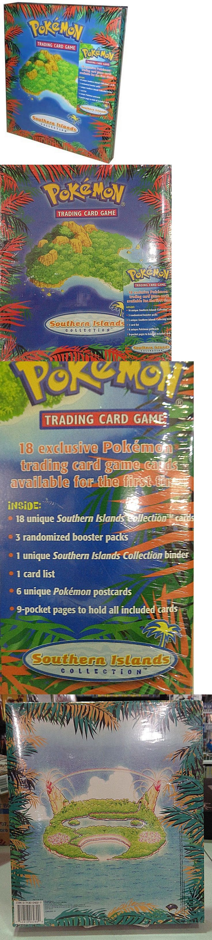 Pok mon Complete Sets 104046: Pokemon Southern Islands Collection Trading Card Game -> BUY IT NOW ONLY: $300 on eBay!