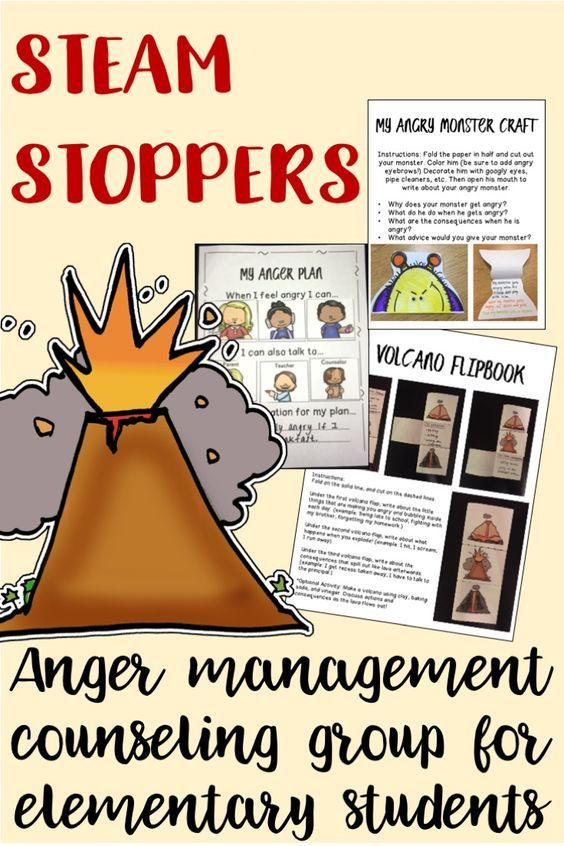 anger management group activities for adults pdf