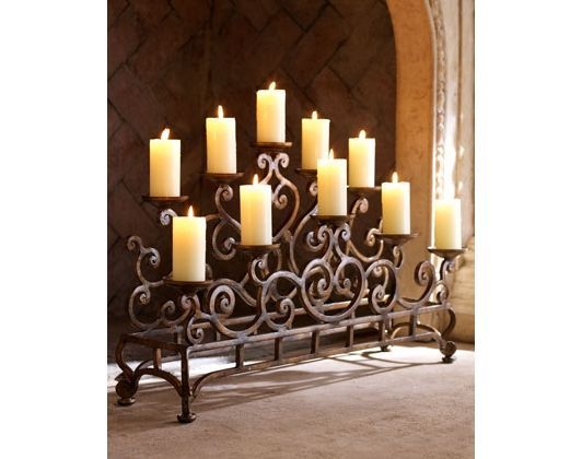 Fireplace candelabrum fireplaces pinterest country for Small den with fireplace