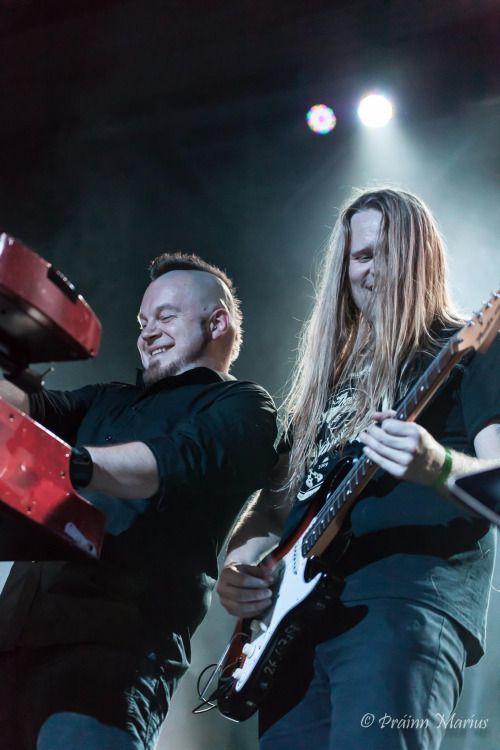 Gunnar Ben and Þráinn Árni Baldvinsson (Skálmöld)