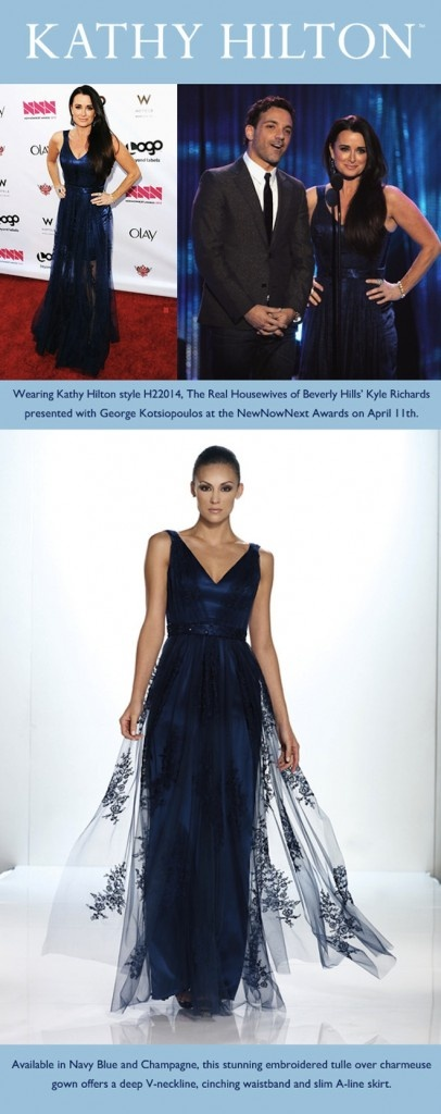 Kyle Richards is stunning in Kathy Hilton Collection at the NewNowNext Awards    http://alinemedia.com/blog/aline-media/kyle-richards-is-stunning-in-kathy-hilton-collection-at-the-newnownext-awards/#