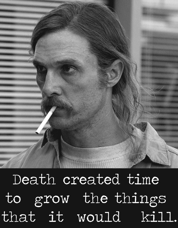 Rust Cohle, TRUE DETECTIVE.