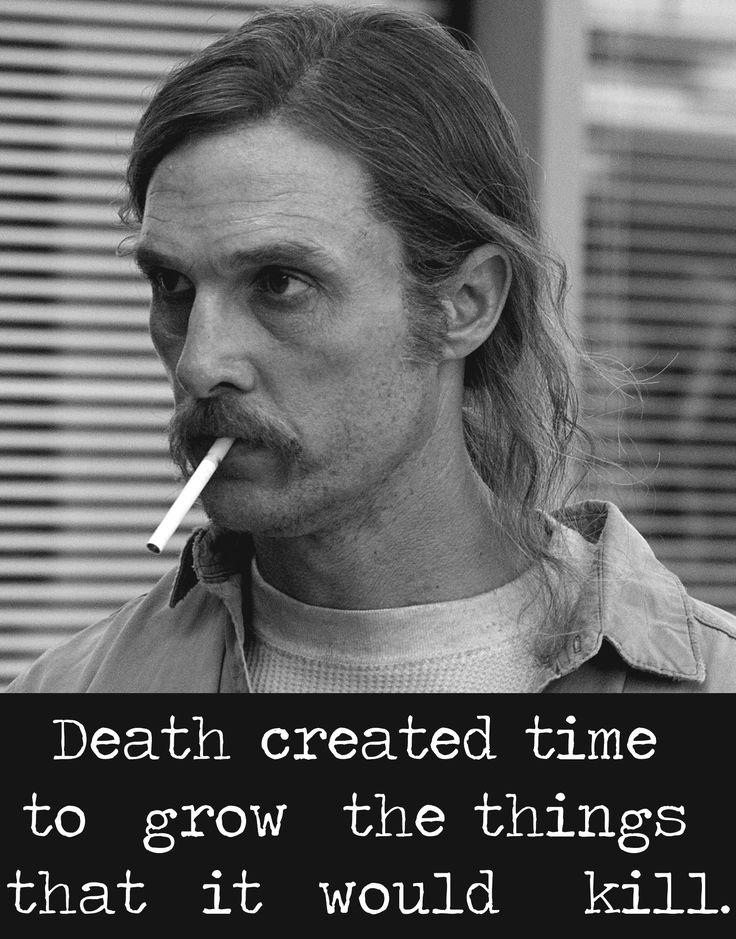 Rust Cohle, TRUE DETECTIVE.