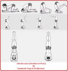 image result for asana headstand  yoga meditation asana