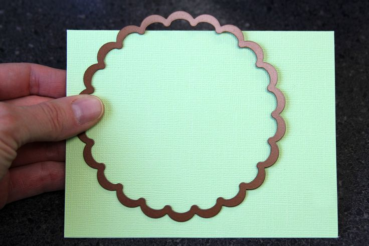 Easy way to make die cut cards and hidden journal spots.