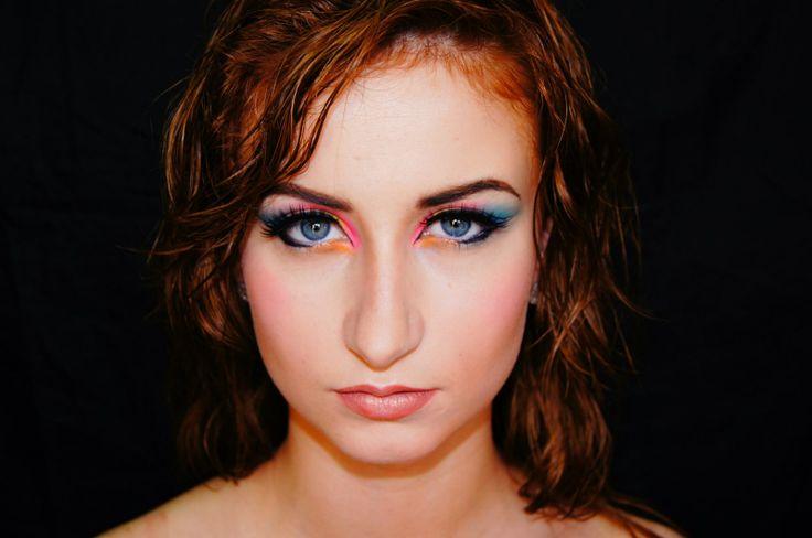 make up inspirowany pokazem chanel ss14...