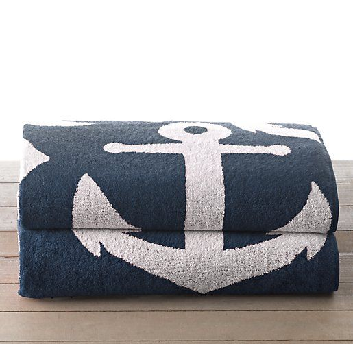 Nautical Flags Bath Towels: 124 Best Nautical Theme Bathroom Images On Pinterest