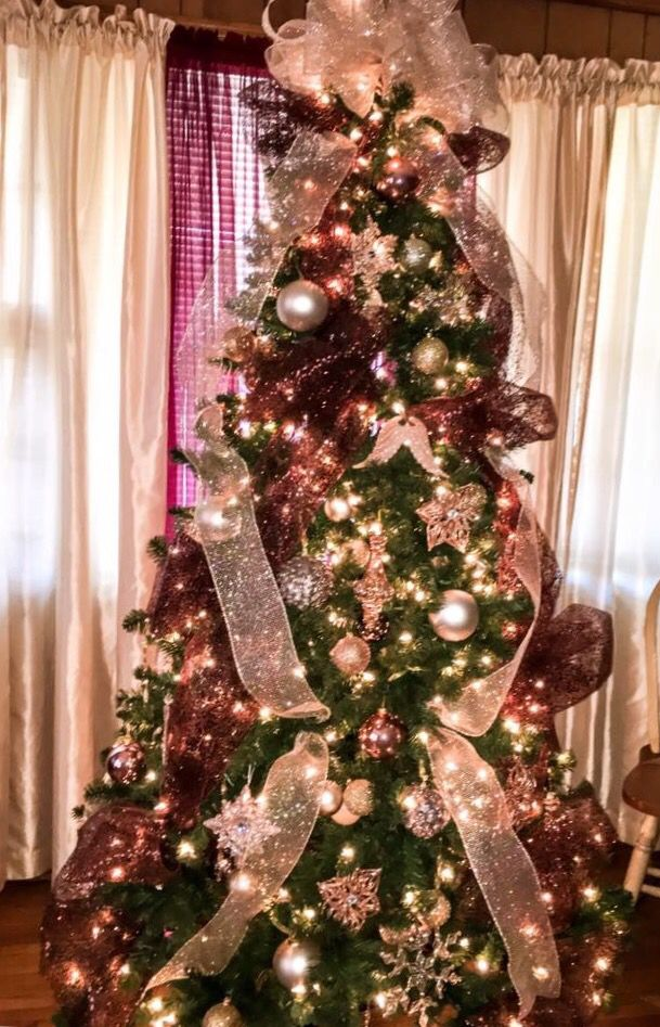 Rose Gold Christmas Tree By Carrie 3