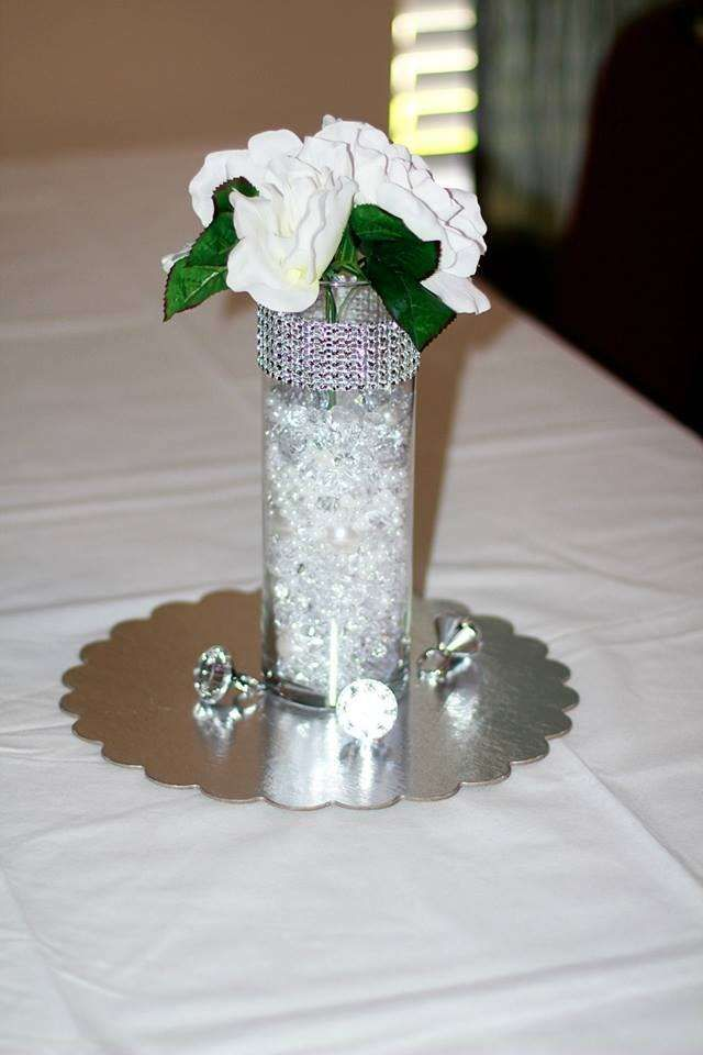 Diamonds and Pearls Bridal/Wedding Shower Party Ideas | Photo 1 of 9