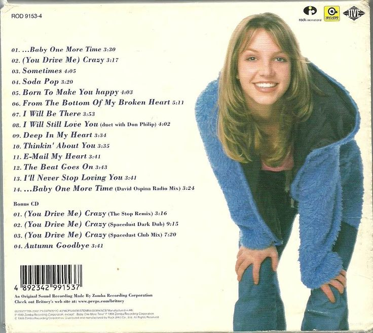 Britney Spears Baby One More Time Music Cd: 19 Best ...Baby One More Time Images On Pinterest
