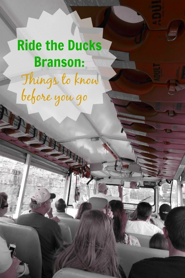 Ride the Ducks in Branson, Missouri is Something to Quack About