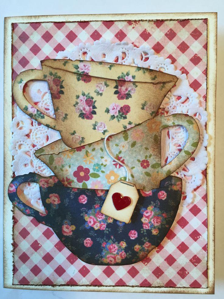 Картинки, открытки своими руками чайник