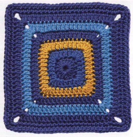 Patrón #1425: Carpeta Azul Profundo a Crochet | CTejidas [Crochet y Dos Agujas]