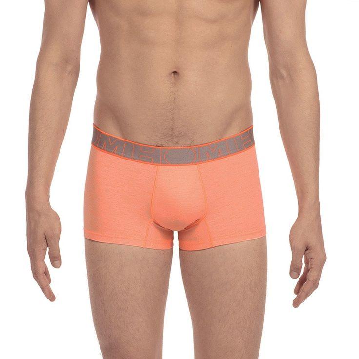 Splash Beach Shorts, Bañador para Hombre, Naranja (Orange), Small HOM