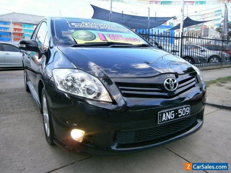 2010 Toyota Corolla ZRE152R MY10 Levin SX Black Automatic 4sp A Hatchback #toyota #corolla #forsale #australia