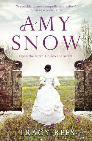 Author Tracy Rees - book title Amy Snow -this is the UK cover - the US edition may be different