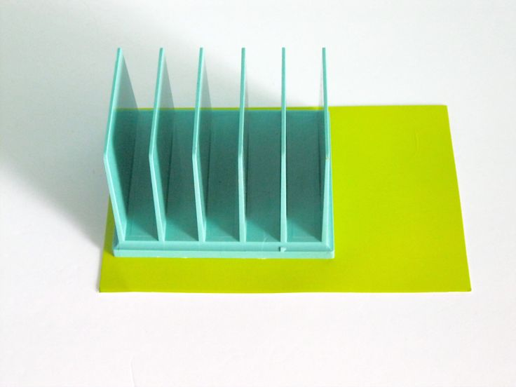 Vintage Aqua Office File Holder Desk Caddy retro office desk organization 1950 Rogers office supplies 2525 under 20 dollars by ToucheVintage on Etsy