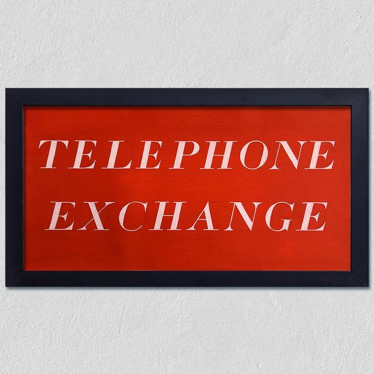 Telephone Exchange, type study c1970s
