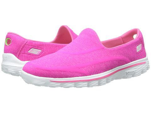 Skechers Performance Go Walk 2 Supersock Hot Pink