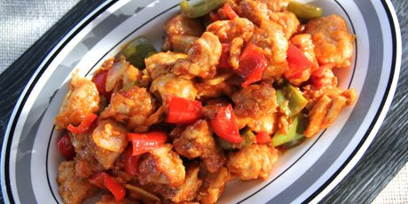 Sweet & Sour Baked Chicken