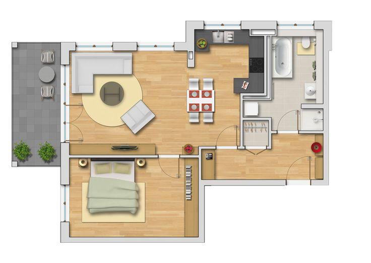 pin von sameeah snjawi auf wohnung grundrisse pinterest wohnung grundrisse und grundrisse. Black Bedroom Furniture Sets. Home Design Ideas