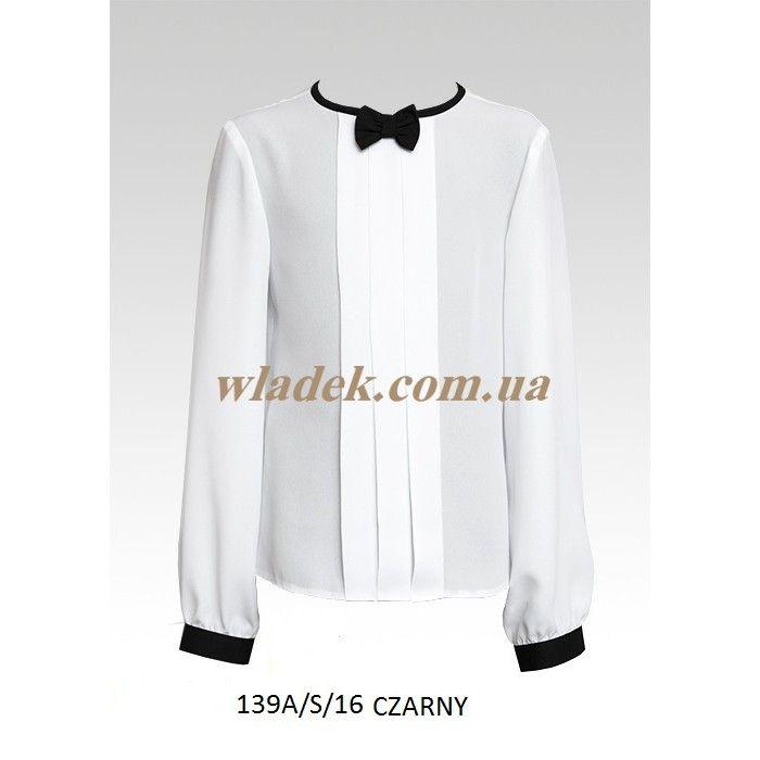 Школьная форма Sly (Польша) - Блузка Sly 139A/S в интернет-магазине wladek.com.ua