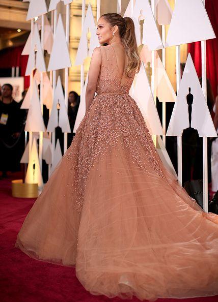 jennifer lopez fashion style   Jennifer Lopez attends the 87th Annual Academy Awards at Hollywood ...