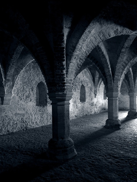 Inside the Guildhall, Blakeney