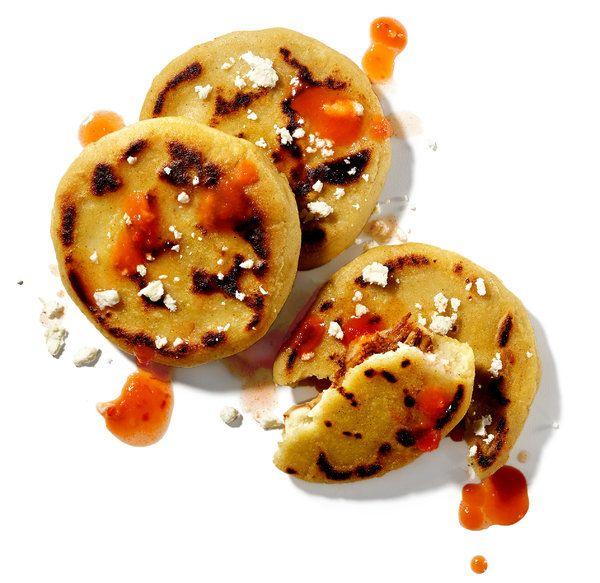 easy pupusas (from masa harina)