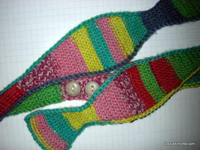 jessieathome.com, Slip-Stich-Bow-Tie, crochet, free pattern, haken, gratis patroon, vlinderdas