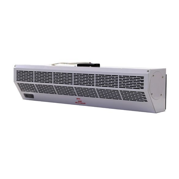 Air Door 48 Inch Maxwell Air Curtain With Electric Heat And Remote Control Fly Fan Heat And Cool Househ In 2020 Heating And Cooling Air Conditioner Heater Cool