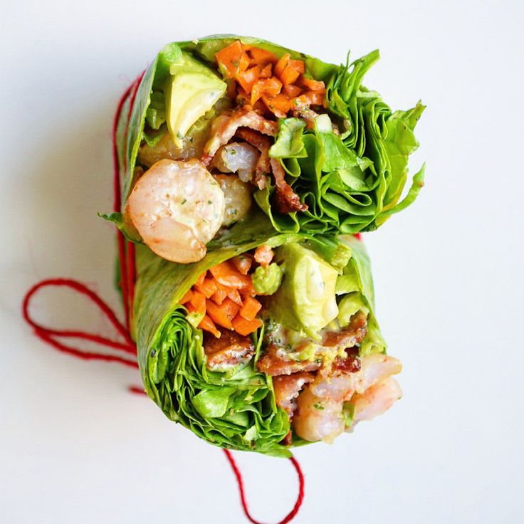 Shrimp and Bacon Breakfast Wrap with Garlic Cilantro Sauce   The Castaway Kitchen