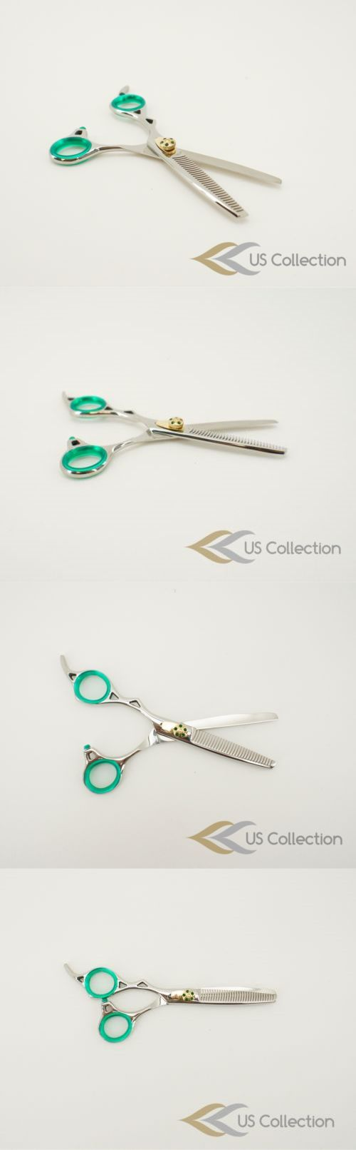 Professional Styling Tools: 6 Single Edged Barber Thinning Hair Shears Scissors BUY IT NOW ONLY: $31.62
