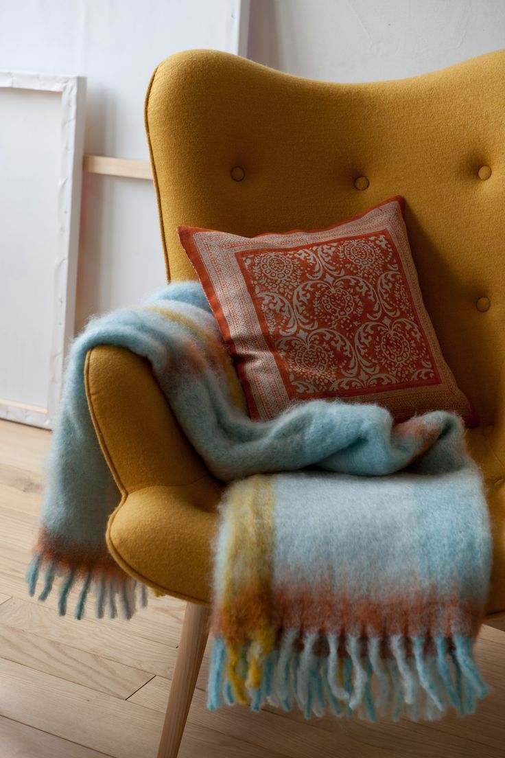 Love that cozy chair ♥ stylefruits inspiration via @zarahome