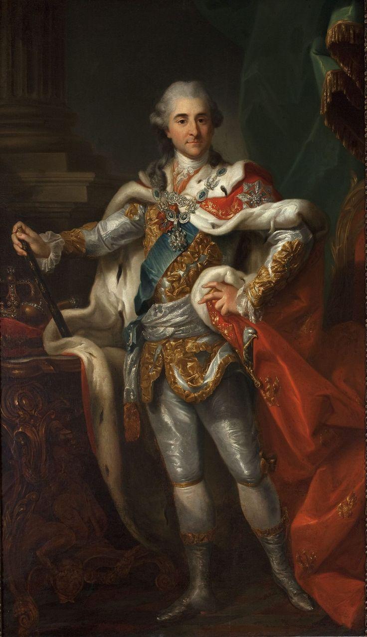 Muzeum Cyfrowe dMuseion - Portret Stanisława Augusta Poniatowskiego w stroju koronacyjnym