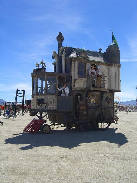 Burning Man 2010 (by Tanais Fox)