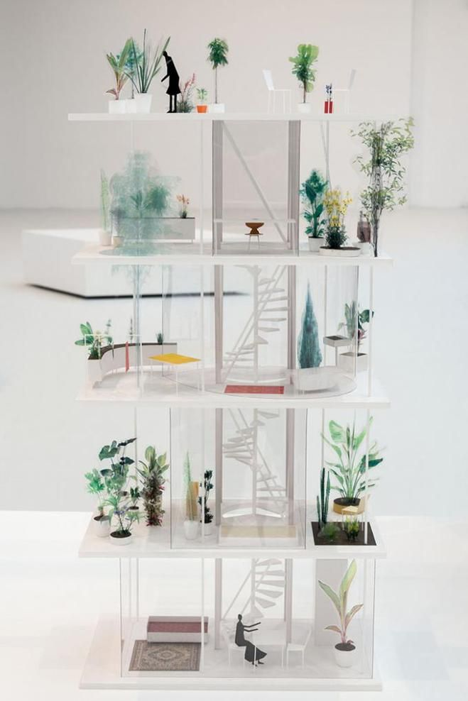 Ryue Nishizawa, Garden & House, Tokyo, 2014