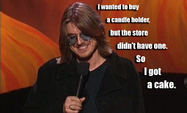20 Hilarious Mitch Hedberg Quotes